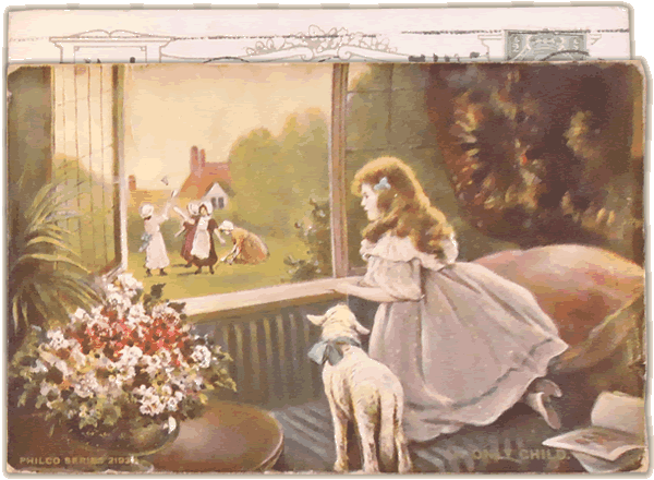 Old fashioned postcard
