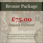 Bronze Family Research Package Deposit