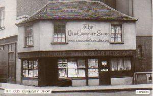 A Postcard Old Curisosty ShopLondon