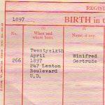 Winifred Gertrude Beardsall